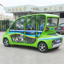 El verde 4 plazas de los coches eléctricos del hogar