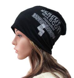 Impreso de la moda tejida de algodón de Esquí Deportes de invierno cálido Hat (YKY3126)