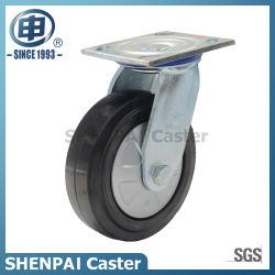 Rotelle di gomma della macchina per colata continua della parte girevole del cuscinetto a sfere da 6 pollici