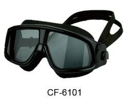 Vetri di nuotata con gli occhiali di protezione elastici registrabili di nuoto del silicone della cinghia