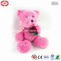 لعبة الدب المحشو الفاخر والبلش والبلش والدب المحشو الزهري