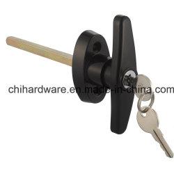 헛간 문 기계설비 T 손잡이 자물쇠 또는 차고 자물쇠