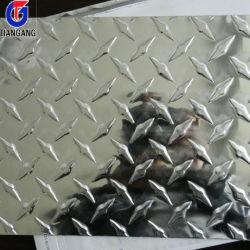 チェック模様のアルミニウムシート
