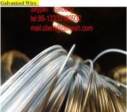부유한 직류 전기를 통한 철사 직경: 0.37mm-4.0mm 아연 코팅: 15g/mm2 장력 강도: 340MPa-420MPa