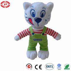 Gato Pribinacek a estrenar con suspender los juguetes de peluche lindo juguete de peluche
