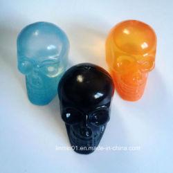 Custom plástico reutilizável crânio de cubos de gelo para as cervejas e bebidas