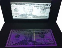 Venda quente populares moeda Euro Detector de contagem de dinheiro falso