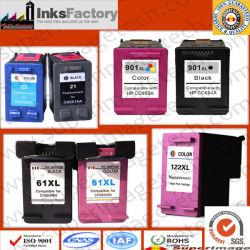 PK 122xl/HP 60xl/HP 901/HP 21xl/HP 74xl Ink Cartridges