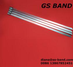 Kabelbinder des Edelstahl-316L des Kugel-Selbstverschlusses