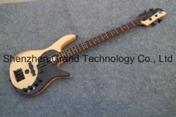 Haut Papillon flambé Maple 4 String Foderas Guitare Basse (GB-64)