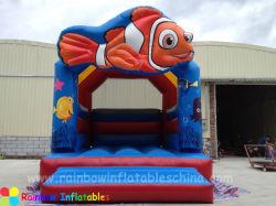 Cheer Amusement Clownfish Zum Thema Fun Finding Inflatable Bouncer