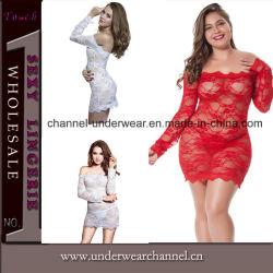 Nuova biancheria sexy del vestito da notte del merletto delle donne (TMZ6315)