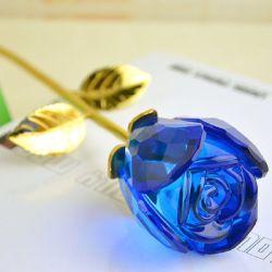 Valentine Romance de cor rosa cristal Crystal de recreio (Ks25216)