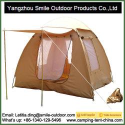 3 Personne de l'armée de l'auvent de toile étanche extérieur tente de camping
