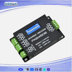 3A*3 Channel Constant Voltage LED DMX Decoder