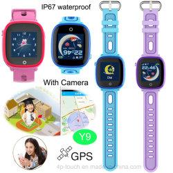IP67 Waterprof интеллектуальные устройства отслеживания GPS для детей с удаленной камеры Y9