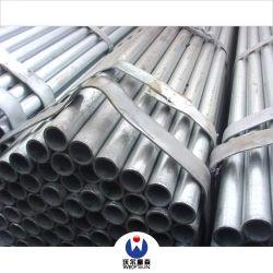 Black Metal redondo de tubos de acero al carbono REG