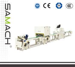 Máquinas para trabalhar madeira Four-Side máquina de revestimento do rolo do perfil de UV