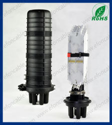 Mecânica de bambu vertical 1em 4a caixa de junção de fibra óptica (D004B)
