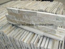 Alta qualità 100% naturale Rusty muro piastrelle giallo ardesia Cultura pietra da tetto per piscina coperta / piscina pavimentazione