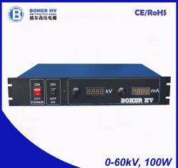 一般目的LAS-230VAC-P100-60K-2Uのための高い発電の供給60kV 100W