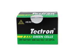 De Alkalische Batterij van het Zink van de Koolstof van de Batterij van de AMERIKAANSE CLUB VAN AUTOMOBILISTEN van de Droge Batterij van Tectron R03 1.5V