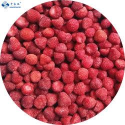 SinoCharm Red A13 IQF Frozen Sweet Strawberry 및 BRC Certificate