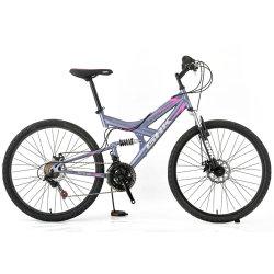 Mountain bike con telaio in acciaio da 29 pollici 29er e sospensione completa MTB in vendita