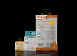 Caja de embalaje de plástico transparente personalizado Imprimir plegado, ampliamente usado en cosméticos, perfumes, pintalabios, protector labial, crema corporal, Mascara, loción, crema hidratante...