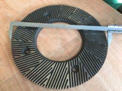 Refinador de discos de doble disco refinador para pulpa de la línea de producción en fábrica de papel
