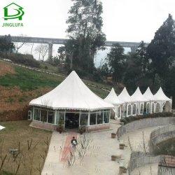 La porte de parti de l'événement mariage arabe de haut en aluminium pagode de crête tente pour la vente