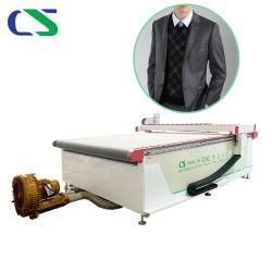 Kleid-Leder-Tuch-Gewebe-Ausschnitt-Maschine CNC-automatische oszillierende Messer-Schaumgummi-Schwamm Belüftung-EPE mit Fabrik-Preis