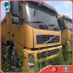 Linker Leiding /Right die de Gebruikte Vrachtwagen van de Stortplaats van Volvo Fh12 Zware in het Goede Lopen sturen
