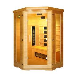Traditioneller Sauna-Raum für das Gesundheits-Interessieren