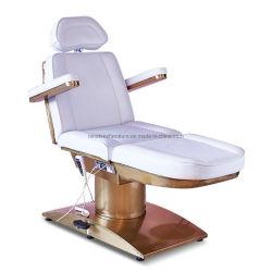 Gd010 роскошь золотого вращающиеся электрические салон красоты массажный салон заместитель Председателя Кровать односпальная кровать