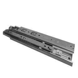 35mm Soft Fermer le tiroir à roulement à billes d'amortissement de rail de glissière