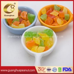 Papaya deshidratada dados conservas de frutas desecadas Papaya dados con sabor diferente