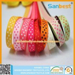 Tissus décoratifs Edge ruban de satin coloré