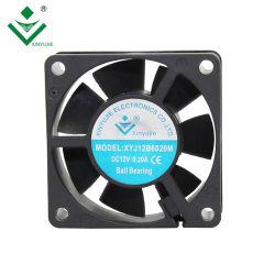 12V 24В постоянного тока вентилятора элеватора 6020 пластиковых осевой вентилятор системы охлаждения вентилятора Bladeless постоянного тока 60X60X20