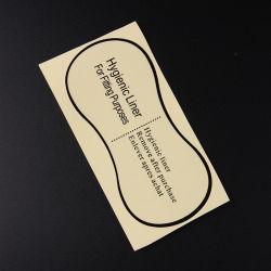 Sol la naturaleza de la etiqueta adhesivo transparente para Cosmética cuello de botella