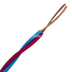La energía eléctrica de la construcción de PVC de cable eléctrico de cobre