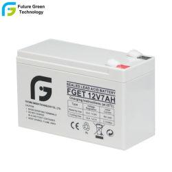 12V 7 Ah AGA étanche au plomb acide rechargeable Batterie de sauvegarde de l'ONDULEUR