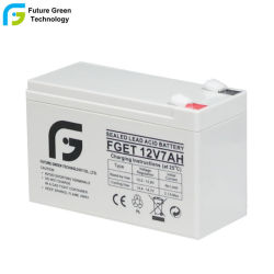 12V 7ah Batería de Reserva AGM UPS de Plomo Sellada Recargable