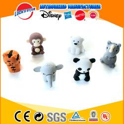 Gomme Animal 3D avec logo personnalisé et la couleur pour les enfants