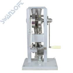 Swansoftの/Tdp-0 /Hand-Operated /Miniのタイプをする費用有効手動単一の穿孔器のタブレットの出版物の丸薬出版物の機械/丸薬