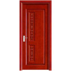 Estilo moderno y simple puerta tallada artesanía interior Puerta de madera (YH-2039-1)