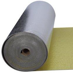 Los rodillos de espuma de oro con el material de aislamiento del techo de lámina de aluminio