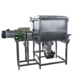 Il tipo industriale miscelatore orizzontale del nastro di vendita calda della polvere dell'inchiostro per il preparato dell'alimento pre prepara lo scarico della vite