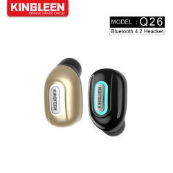 Fone de ouvido sem fio do fone de ouvido Bluetooth Headset Sport para iPhone