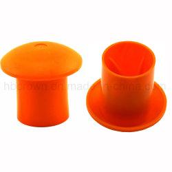Alimentação de fábrica cogumelo de plástico da tampa de segurança da proteção vergalhão para barra de aço